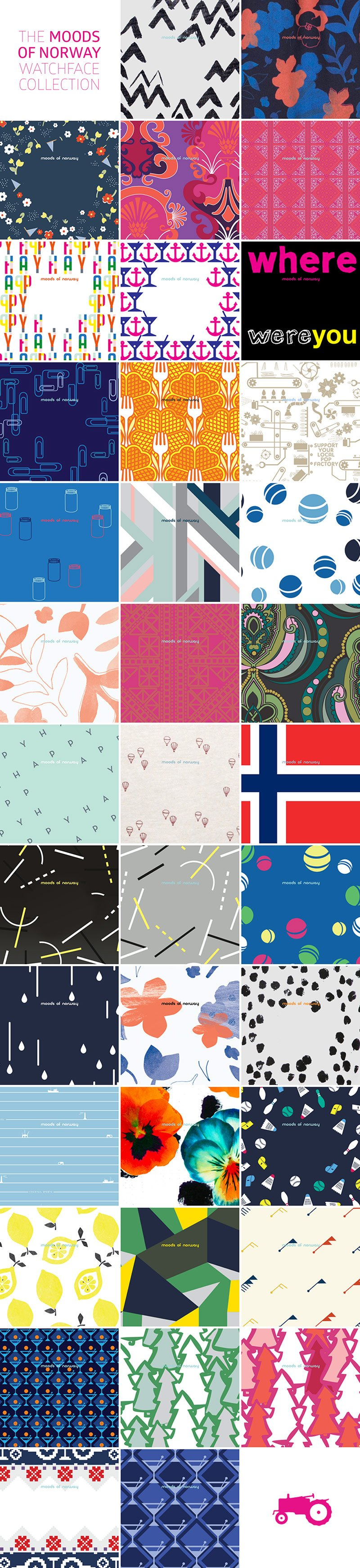 Design by Moods of Norway