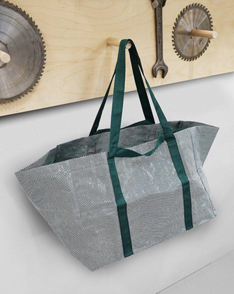 ikea frakta bag redesigned by hay. Black Bedroom Furniture Sets. Home Design Ideas